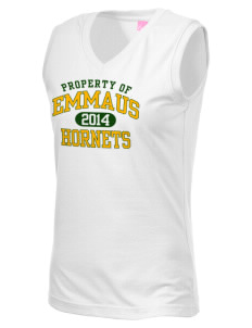 Emmaus High School Hornets Women's V-Neck Sleeveless T-Shirt
