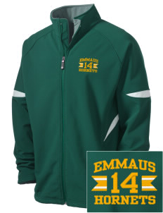 Emmaus High School Hornets Holloway Embroidered Men's Radius Zip Front Jacket