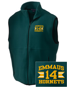 Emmaus High School Hornets Embroidered Men's Fleece Vest