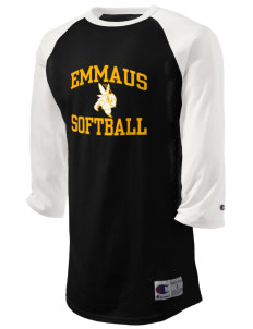 Emmaus High School Hornets Champion Men's Tagless Baseball T-Shirt