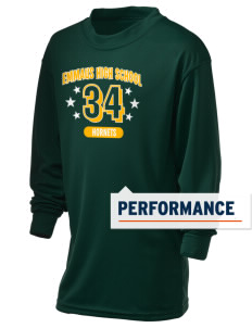 Emmaus High School Hornets Holloway Kid's Performance Spark Long Sleeve T-Shirt