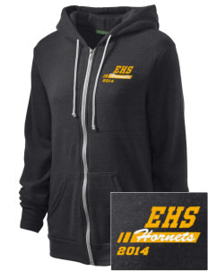 Emmaus High School Hornets Embroidered Alternative Unisex The Rocky Eco-Fleece Hooded Sweatshirt