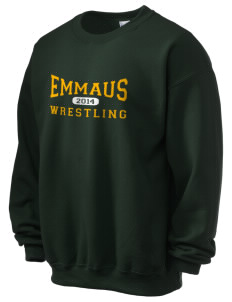 Emmaus High School Hornets Men's Ultra Blend 50/50 Crewneck Sweatshirt