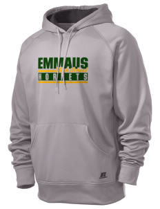 Emmaus High School Hornets  Russell Men's Fusion Tech Hooded Sweatshirt
