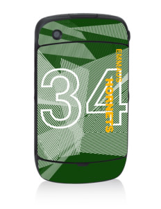 Emmaus High School Hornets Black Berry 8530 Curve Skin
