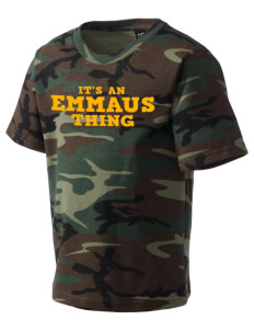 Emmaus High School Hornets Kid's Camo T-Shirt