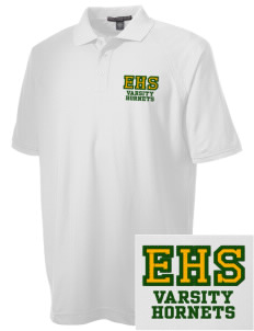 Emmaus High School Hornets Embroidered Men's Technical Performance Polo