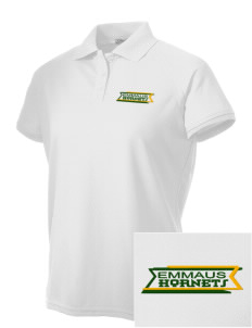 Emmaus High School Hornets Embroidered Women's Technical Performance Polo