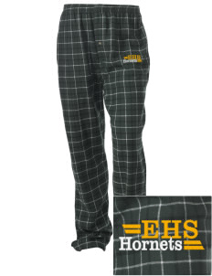 Emmaus High School Hornets Embroidered Unisex Button-Fly Collegiate Flannel Pant