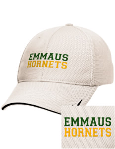 Emmaus High School Hornets Embroidered Nike Dri-Fit Mesh Swoosh Flex Sandwich Cap