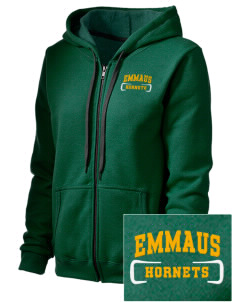 Emmaus High School Hornets Embroidered Women's Heavy Blend Vintage Full-Zip Hood Sweatshirt
