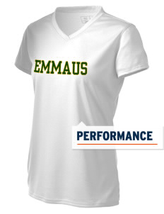 Emmaus High School Hornets Women's New Balance Ndurance Athletic V-Neck T-Shirt