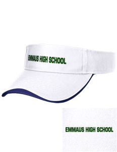 Emmaus High School Hornets Embroidered Binding Visor