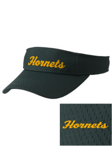 Emmaus High School Hornets Embroidered Woven Cotton Visor