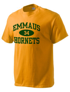 Emmaus High School Hornets Hanes Beefy Tagless Men's T-Shirt