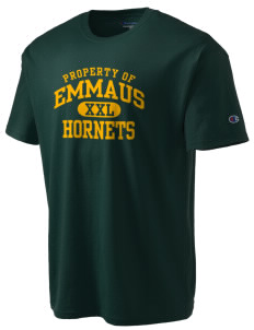 Emmaus High School Hornets Champion Men's Tagless T-Shirt