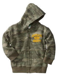 Emmaus High School Hornets Toddler Full Zip Hoodie