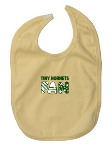 Emmaus High School Hornets Baby Interlock Bib