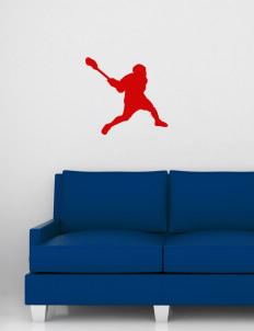 "Barrett Learning Center Cardinals Wall Silhouette Decal 20"" x 24"""