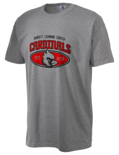 Barrett Learning Center Cardinals  Russell Men's NuBlend T-Shirt