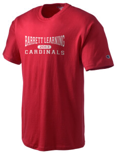 Barrett Learning Center Cardinals Champion Men's Tagless T-Shirt