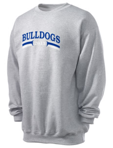 Colleton Middle School Annex Bulldogs Men's 7.8 oz Lightweight Crewneck Sweatshirt