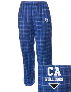 Colleton Middle School Annex Bulldogs Embroidered Men's Button-Fly Collegiate Flannel Pant