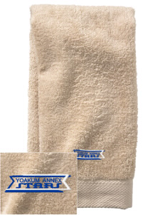 Yoakum Primary Annex School Stars  Embroidered Zero Twist Resort Hand Towel