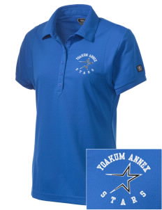 Yoakum Primary Annex School Stars Embroidered OGIO Women's Jewel Polo