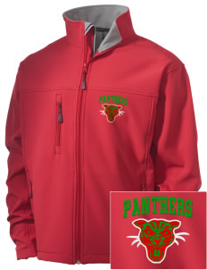 African American Academy Panthers Embroidered Men's Soft Shell Jacket