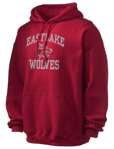 Eastlake High School Wolves Ultra Blend 50/50 Hooded Sweatshirt
