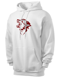 Eastlake High School Wolves Men's 7.8 oz Lightweight Hooded Sweatshirt