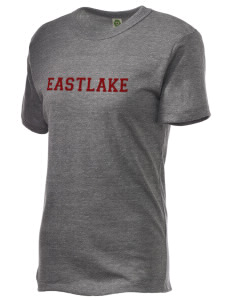 Eastlake High School Wolves Embroidered Alternative Unisex Eco Heather T-Shirt