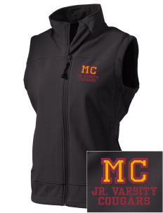 McLean County Middle School Cougars  Embroidered Women's Glacier Soft Shell Vest