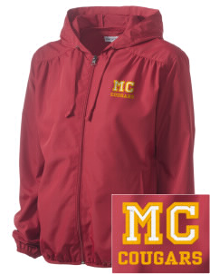 McLean County Middle School Cougars Embroidered Women's Hooded Essential Jacket