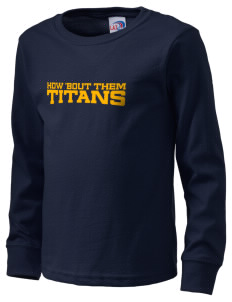 Agbu Manoogian Demirdjian School Titans  Kid's Long Sleeve T-Shirt