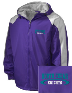 North Cedar Middle School Knights Embroidered Holloway Men's Weather Resistant Full-Zip Jacket