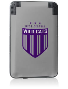 West Central Middle School Wild Cats Kindle Keyboard 3G Skin