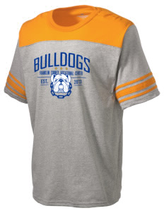 Franklin County Vocational Center Bulldogs Holloway Men's Champ T-Shirt