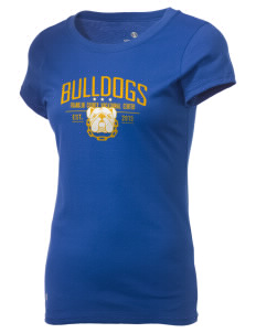 Franklin County Vocational Center Bulldogs Holloway Women's Groove T-Shirt