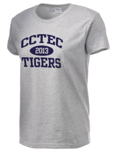 Cumberland County Technical Education Center Tigers Women's 6.1 oz Ultra Cotton T-Shirt