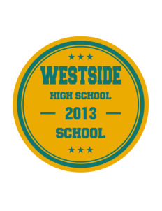 Westside School School Sticker