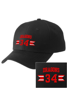 Kingsway Middle School Dragons  Embroidered New Era Adjustable Structured Cap