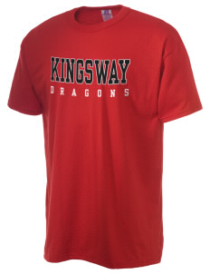Kingsway Middle School Dragons  Russell Men's NuBlend T-Shirt