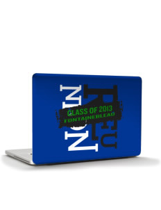 "Fontainebleau Junior High School Hurricanes Apple MacBook Air 13"" Skin"