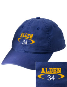 Alden Middle School Bulldogs Embroidered Vintage Adjustable Cap