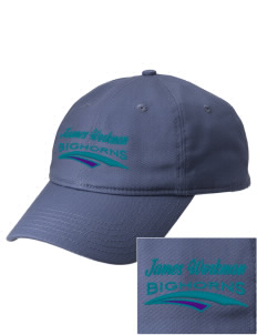 James Workman Middle School Bighorns  Embroidered New Era Adjustable Unstructured Cap