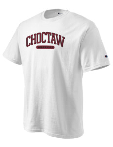Choctaw Middle School Warriors Champion Men's Tagless T-Shirt