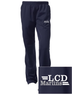Low Country Day School Marlins Embroidered Women's Tricot Track Pants