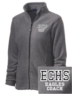 Jim Elliot Christian High School Eagles Embroidered Women's Wintercept Fleece Full-Zip Jacket